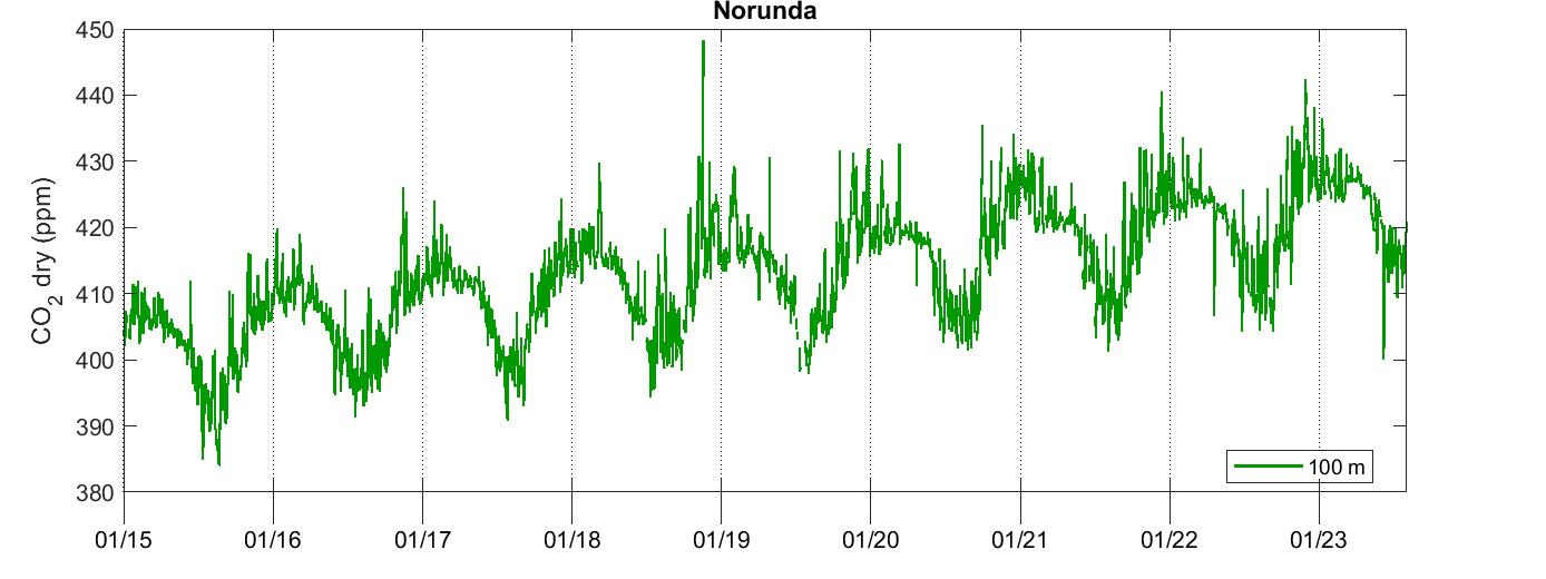 Norunda CO2
